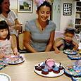 Tia's Barbie, Buzz & Spidey birthday party