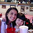 Maria & Paola at Doe's