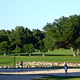 Sand volleyball and golf course