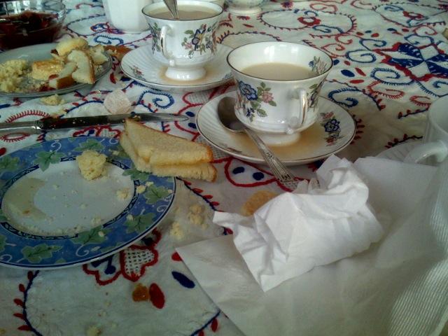 The British Bears Tea Party