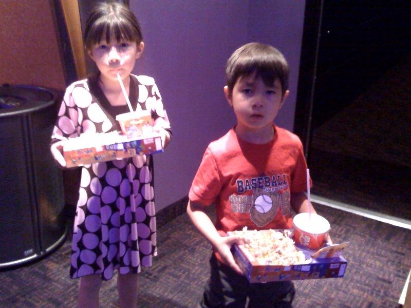Taking the kids to Star Wars Clone Wars